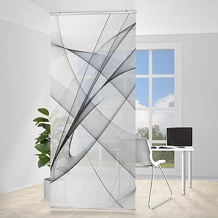 Panel japones Vibration, Tamaño: 250 x 120cm, panel japonés, paneles japoneses, separadores de ambientes, cortina, paneles japoneses cortina, cortinas: Amazon.es: Hogar