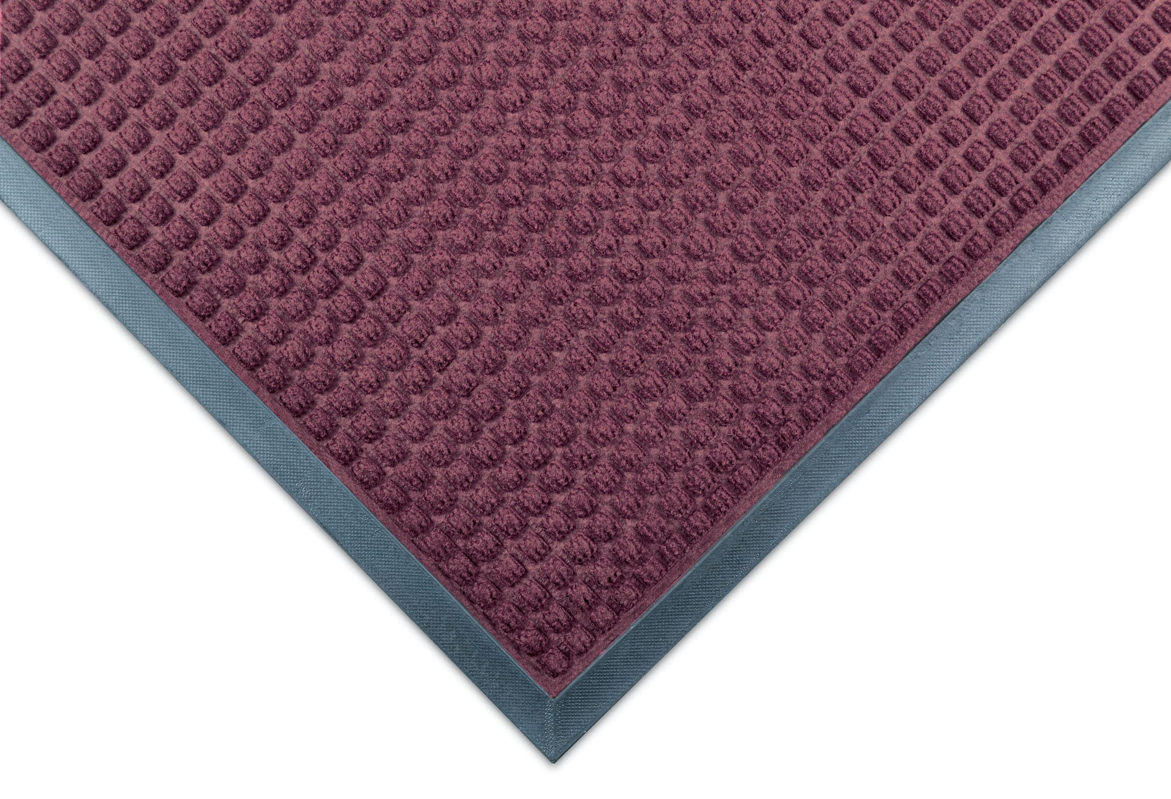 Notrax 166 Guzzler Entrance Mat, for Lobbies and Entranceways, 4' Width x 6' Length x 1/4'' Thickness, Burgundy