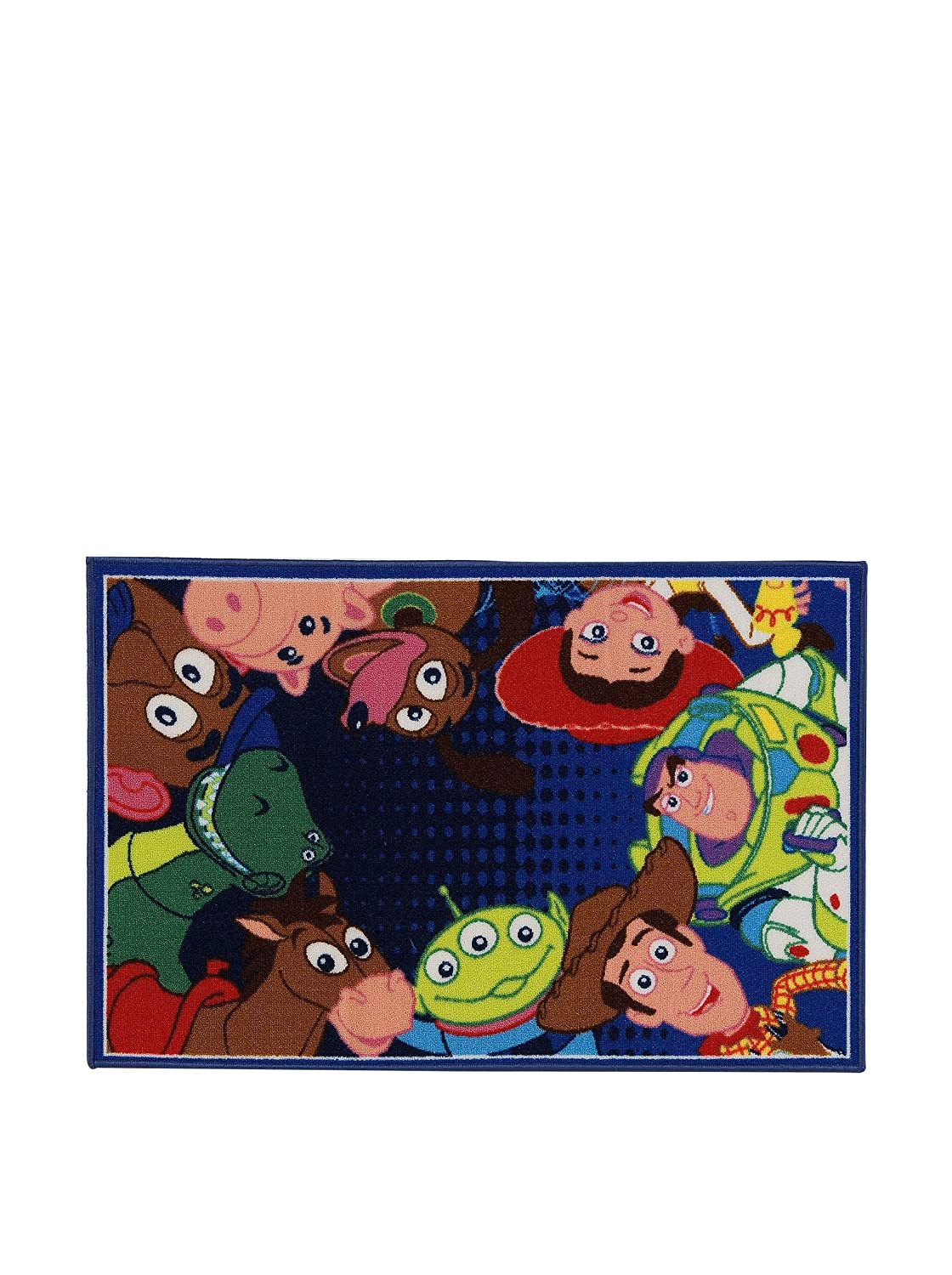 Disney Alfombra Disney A.L. Toy Story Ts06 Azul/Multicolor size is not in selection ES CABLY1917-Red-M 15615_-80x120