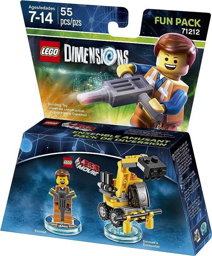 LEGO Película Emmet Fun Pack - Dimensiones: Amazon.es: Juguetes y juegos