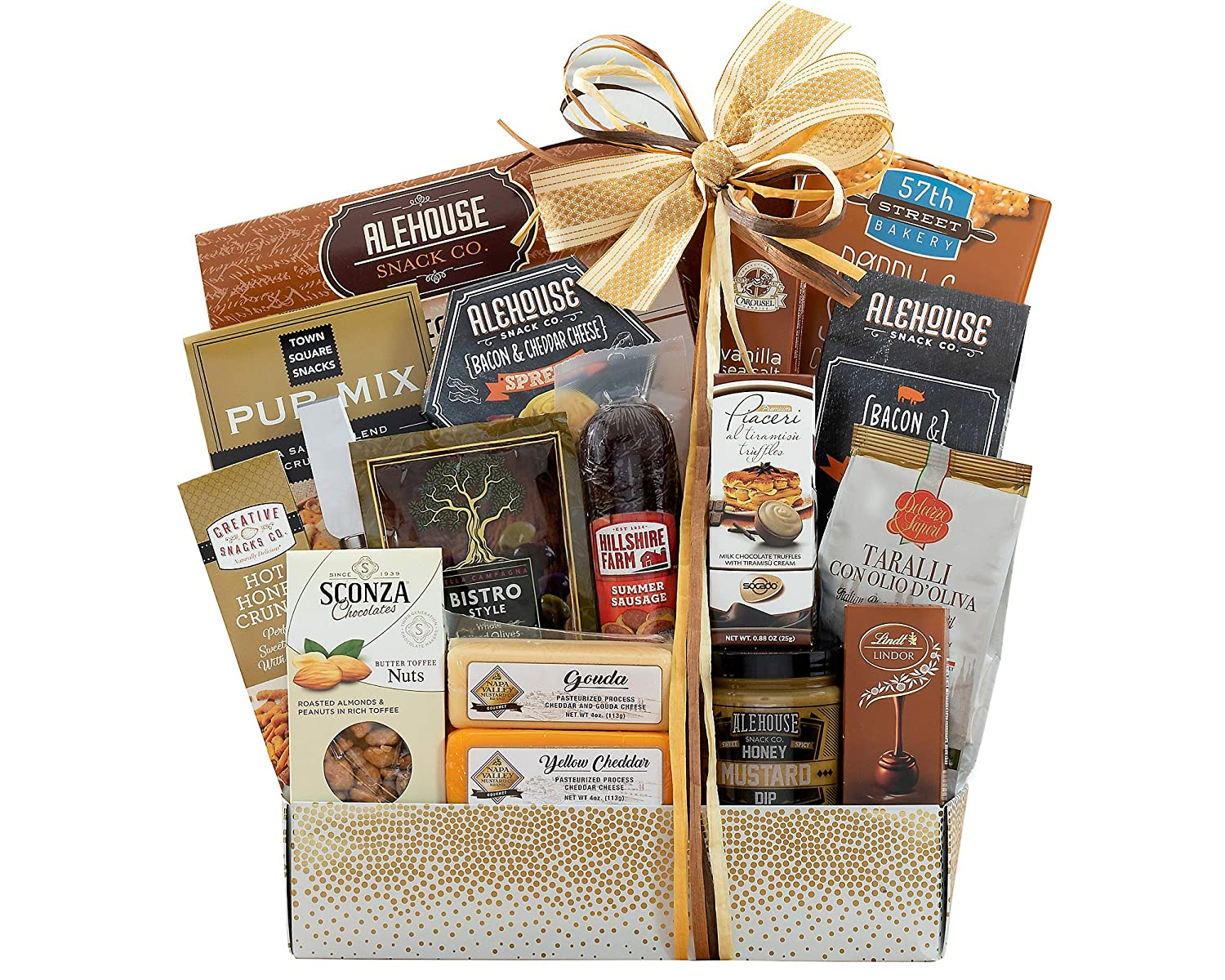 Deluxe Meat & Cheese Savory Assortment by Wine Country Gift Baskets