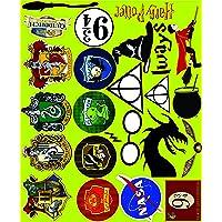 Elton 3M Vinyl Sticker Pack [20-Pcs] Plus Bonus Lovely 3M Vinyl Harry Potter - 1 Stickers for Laptop, Cars, Motorcycle, PS4. X Box One . Guitar Bicycle, Skateboard, Luggage - Waterproof Random Sticker Pack