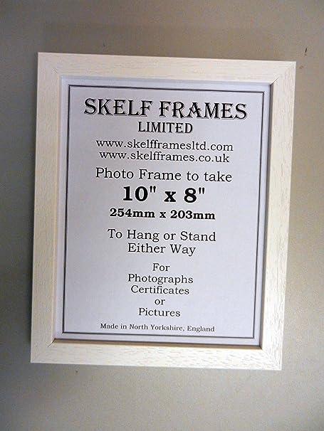 14x11 WOOD PICTURE PHOTO FRAME (White): Amazon.co.uk: Kitchen & Home