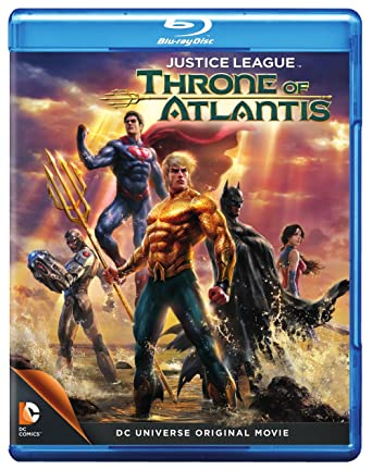 Justice League: Throne of Atlantis (Blu-ray)