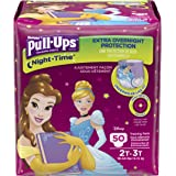Pull-Ups Night-Time Training Pants for Girls, 2T-3T, 50 Count (Pack of 2) (Packaging May Vary)