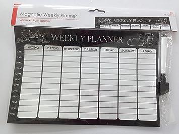 Kühlschrank Wochenplaner : Magnetisch wochenplaner organizer kalender memo board