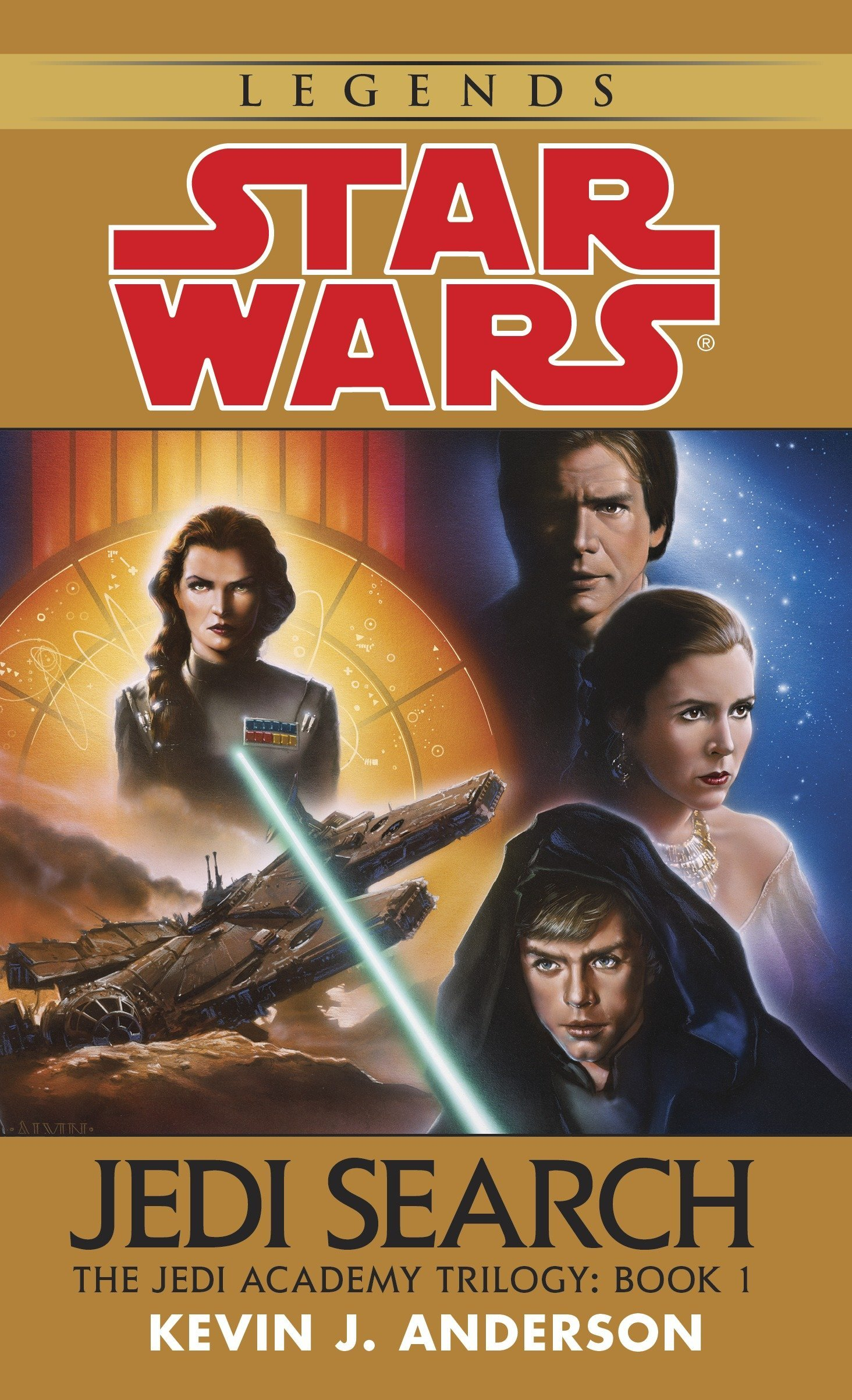 Download Jedi Search (Star Wars: The Jedi Academy Trilogy, Vol. 1) pdf