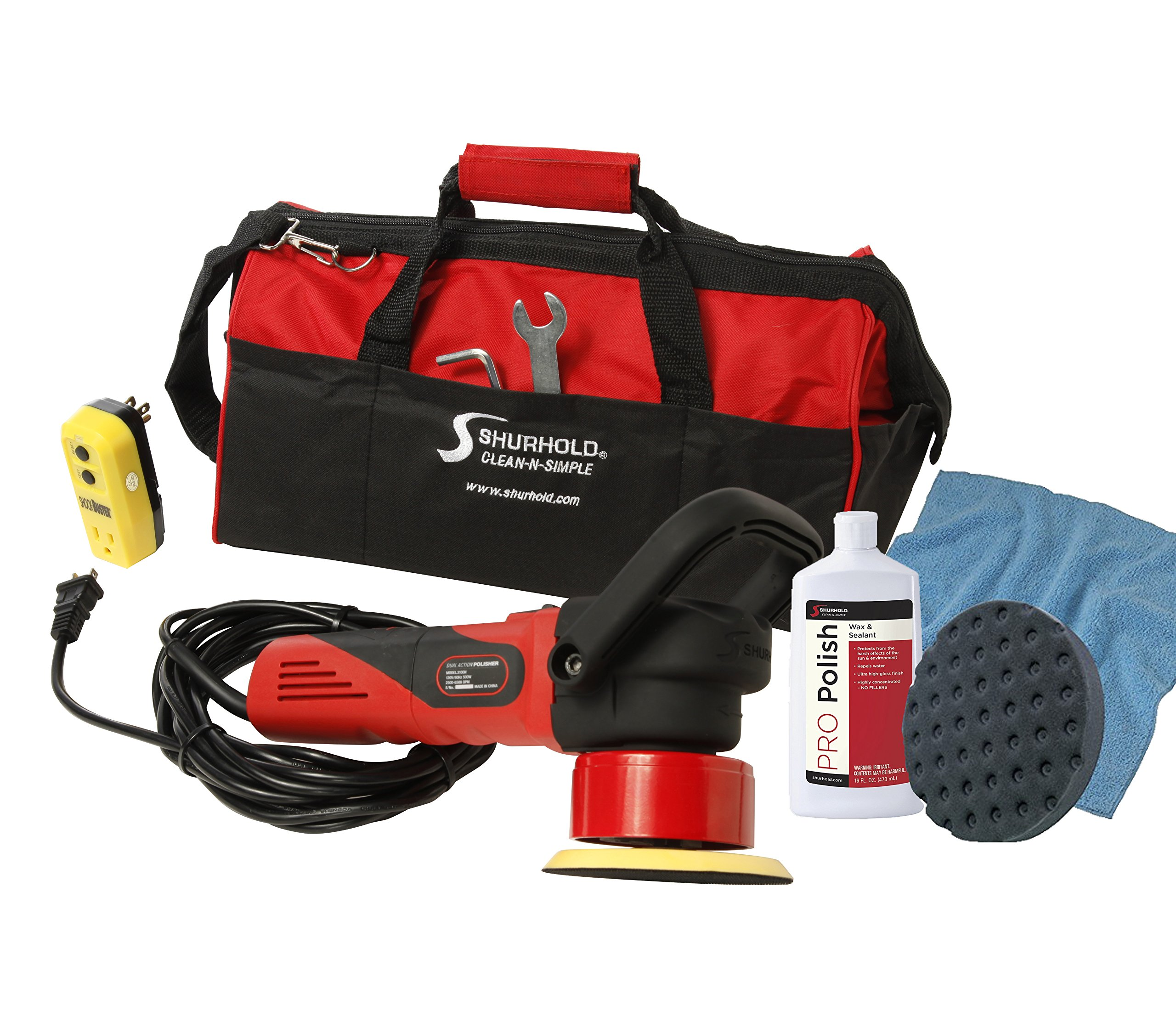 Shurhold 3101 Dual Action Polisher Starter Kit by Shurhold (Image #1)