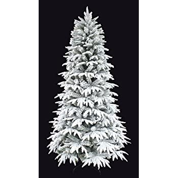Amazon.com: Snowy Forest Spruce the Real Feel PE Flocked ...