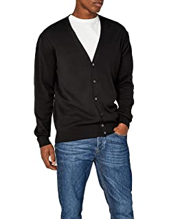 1fa65e2000 Harriton Men s Pilbloc V-Neck Button Cardigan Sweater at Amazon ...