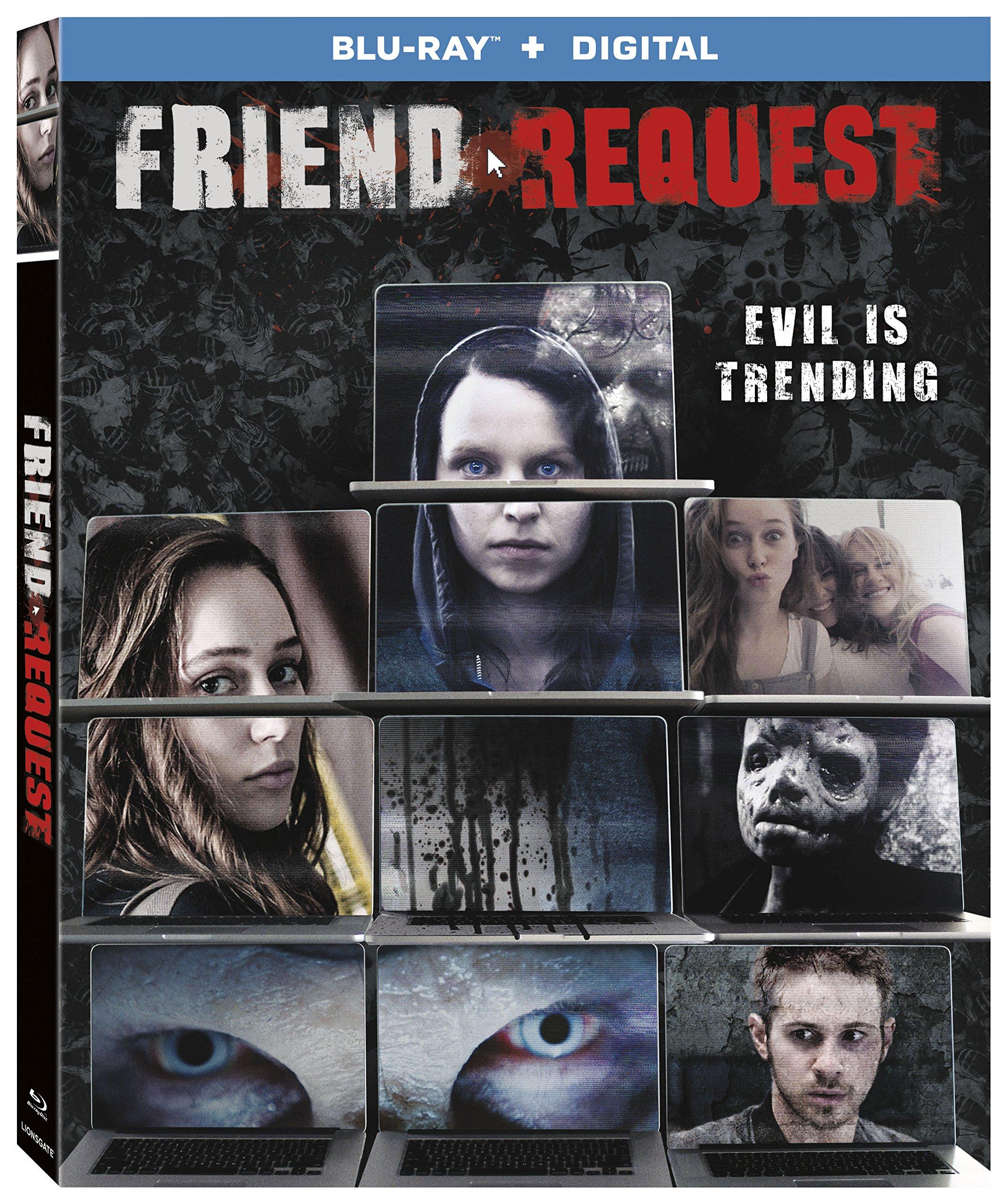 Blu-ray : Friend Request (Widescreen, , AC-3, Digital Theater System)