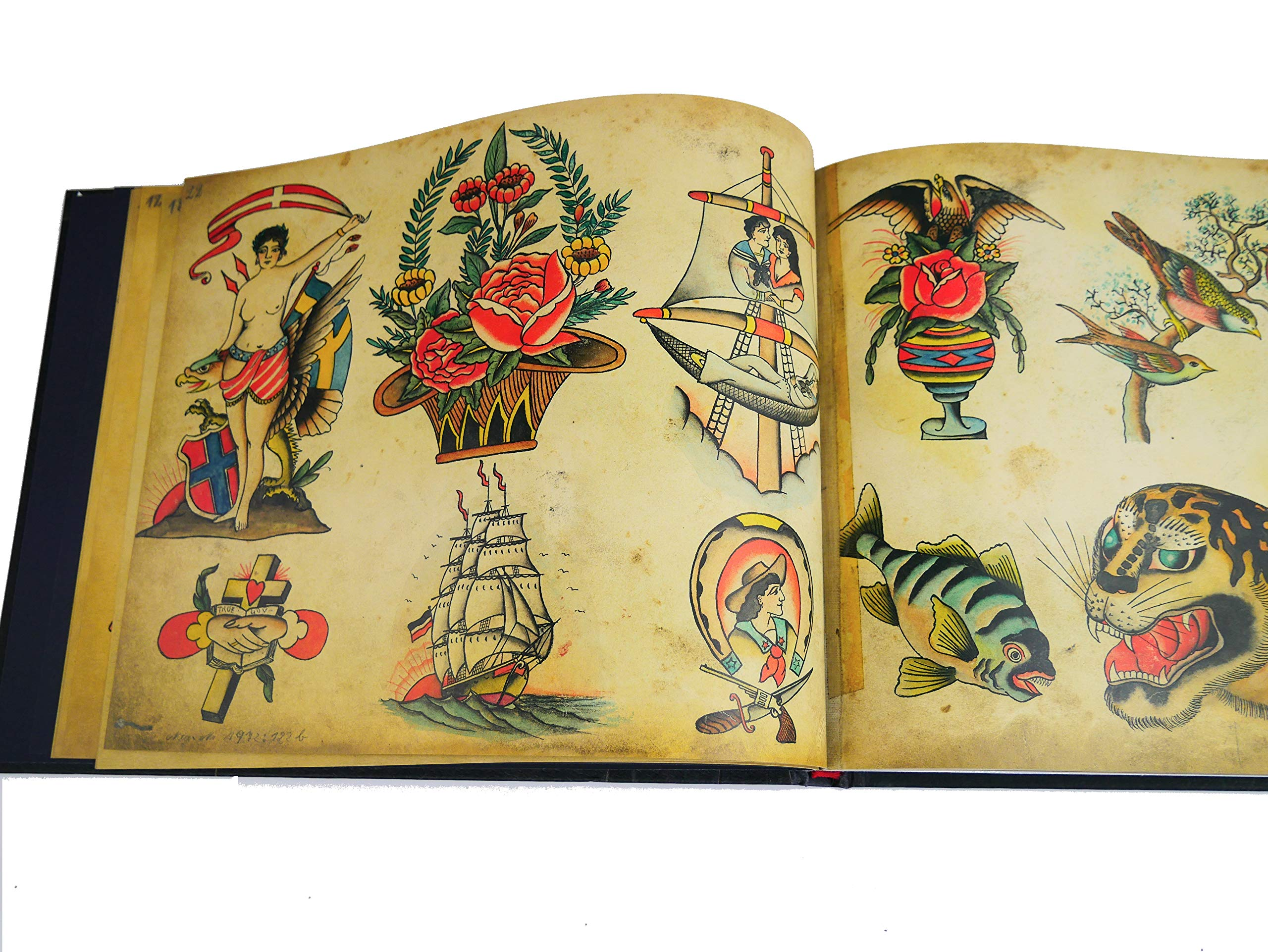 Tattoo Flash Book: Christian Warlich: Amazon.es: Wittmann, Ole ...