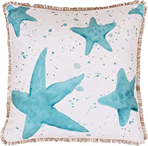 Thro by Marlo Lorenz TH008466001E Samaria Starfish Splatter Pillow, Multicolor