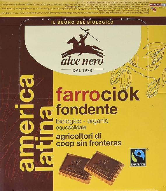 Galletas de espelta cubierta de chocolate oscuro bio - Paquete de 24 x 28 gr - Total: 672 gr: Amazon.es: Alimentación y bebidas
