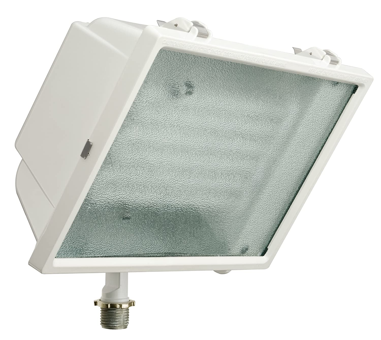 Lithonia Lighting OFL2 65F 120 LP WH M4 Standard Flood Light with 65-Watt 6500K Triple Tube Compact Fluorescent Lamp