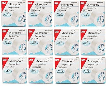 3 M Micropore – Esparadrapo quirúrgico 25 mm x ...