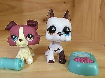 Toys For Boys To Color : Amazon.com: mini pet shop littlest lps #577 #1262 great dane collie