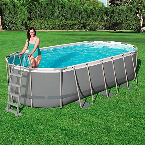 Bestway 58331 - Escalera para Piscina Desmontable 122 cm: Amazon ...