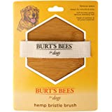 Burt's Bees for Dogs Hemp Palm Bristle Brush | Best Ergonomic Dog Brush To Groom Large Dogs | Reduces Stress On your…