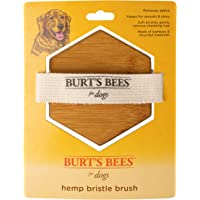 Burt's Bees for Dogs Palm Brush with Hemp Bristles | Best Ergonomic Dog Brush To Groom Large Dogs | Easy to Hold Dog…