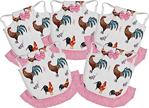5 Pack Chicken Saddle Complete Protection for Wings and Back