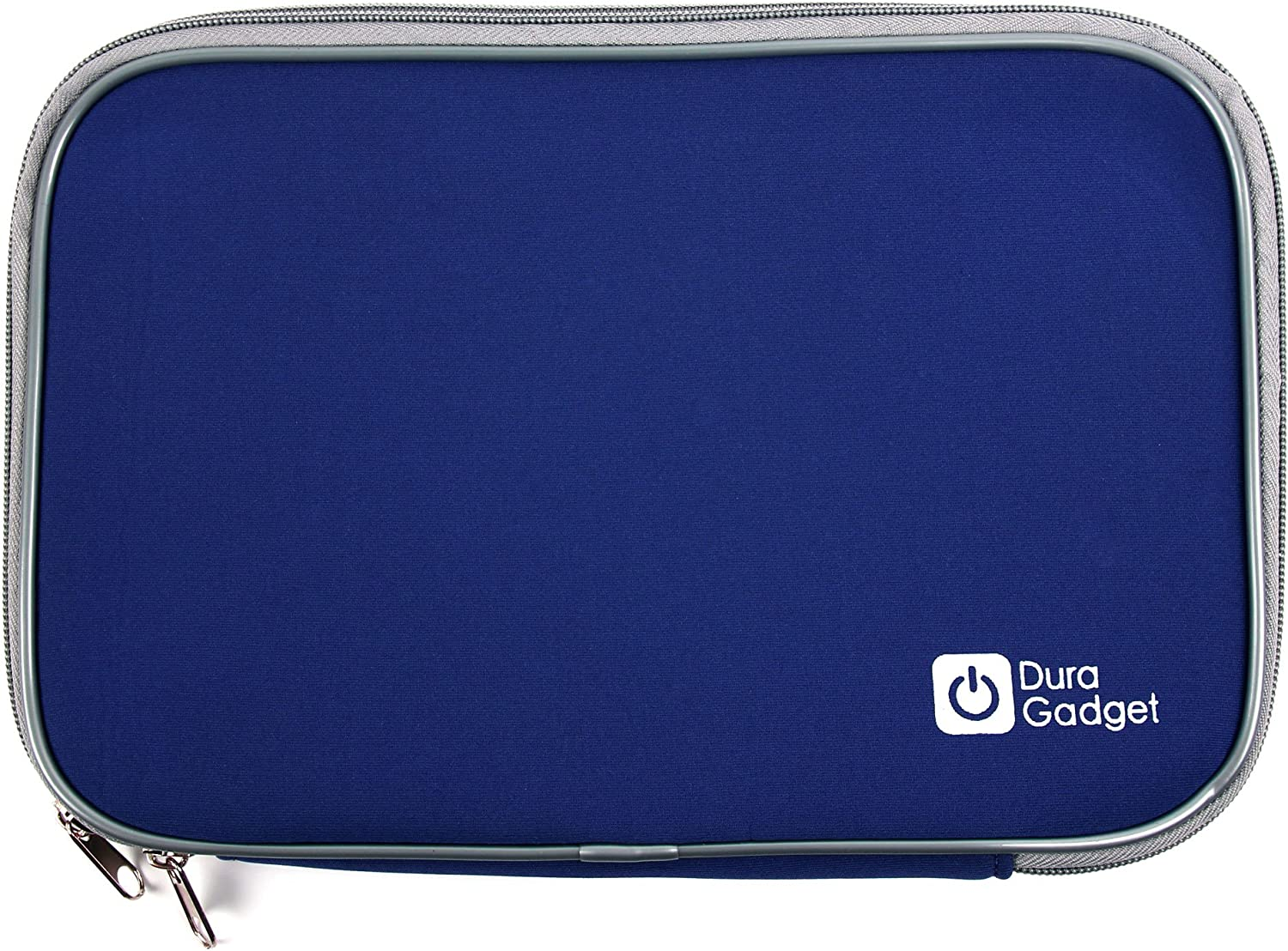 DURAGADGET Protective Blue Neoprene Sleeve - Compatible with Acer Aspire One 522   Aspire One 533   Aspire One D255   Aspire One D260 & Aspire One Happy