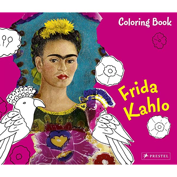 - Frida Kahlo (Colouring Books): Doris Kutschbach: 9783791339948: Amazon.com:  Books