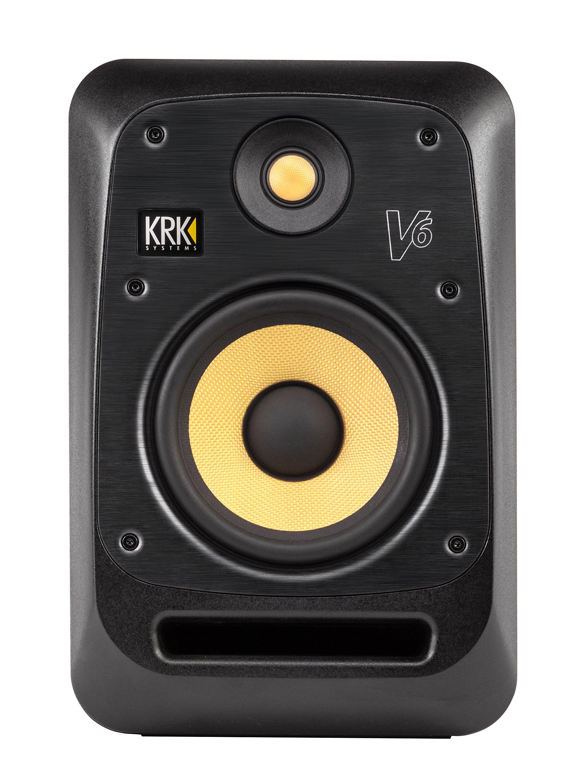 KRK V6S4 V Series 4 6-inch 2-Way Powered Monitor - (Black)