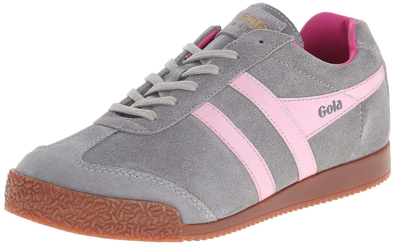 Gola Women's Cla192 Harrier Fashion Sneaker B00VCCUDAC 9 B(M) US|Grey/Pink/Fuchsia