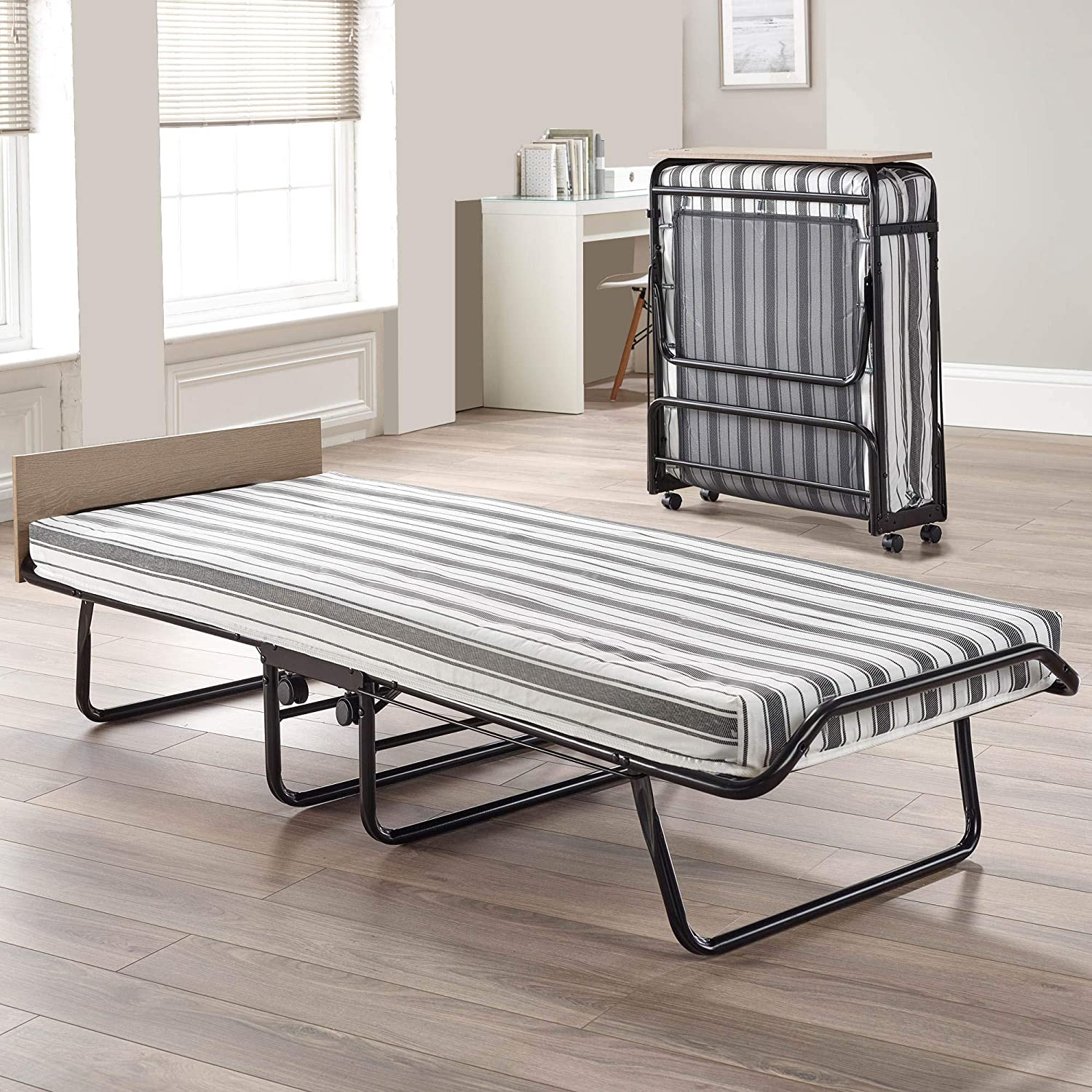 """Serta 39"""" Portable Rollaway Bed with Twin Mattress"""