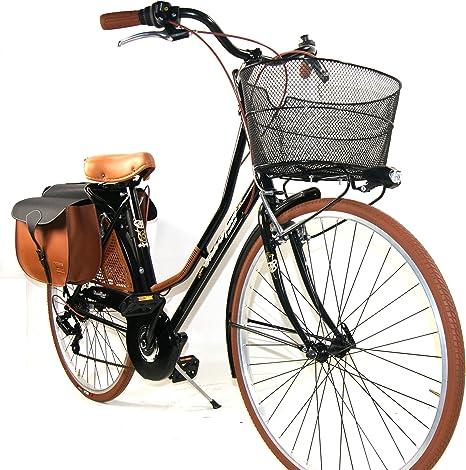 Ciclosport - Bicicleta de paseo completa de mujer, con cambio ...