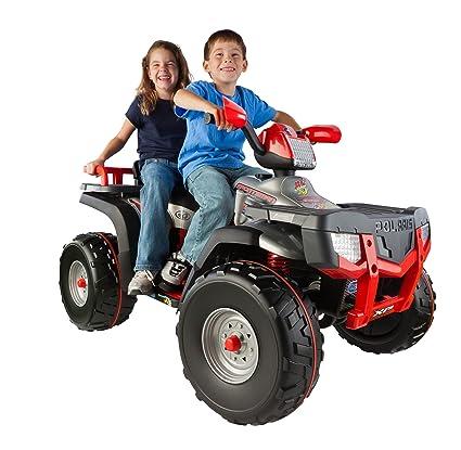 Peg Perego Ride On Toys >> Peg Perego Xp850 Polaris Sporstman Ride On Silver