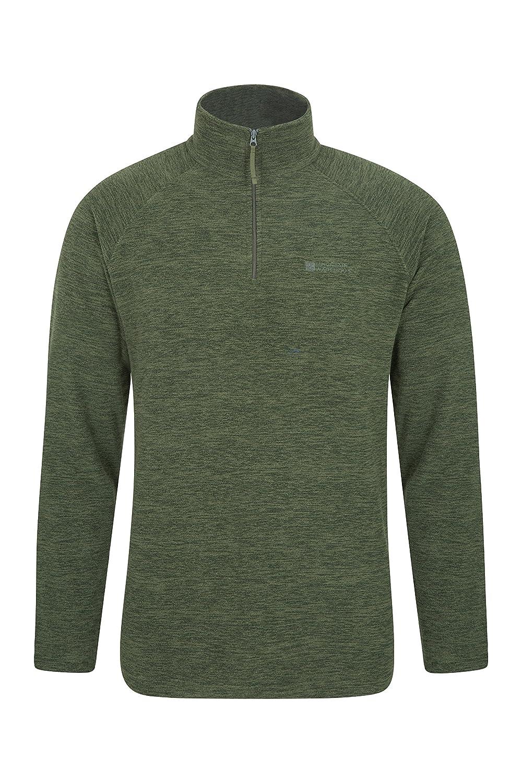 Mountain Warehouse Snowdon Mens Micro Fleece Jacket -All Season Coat