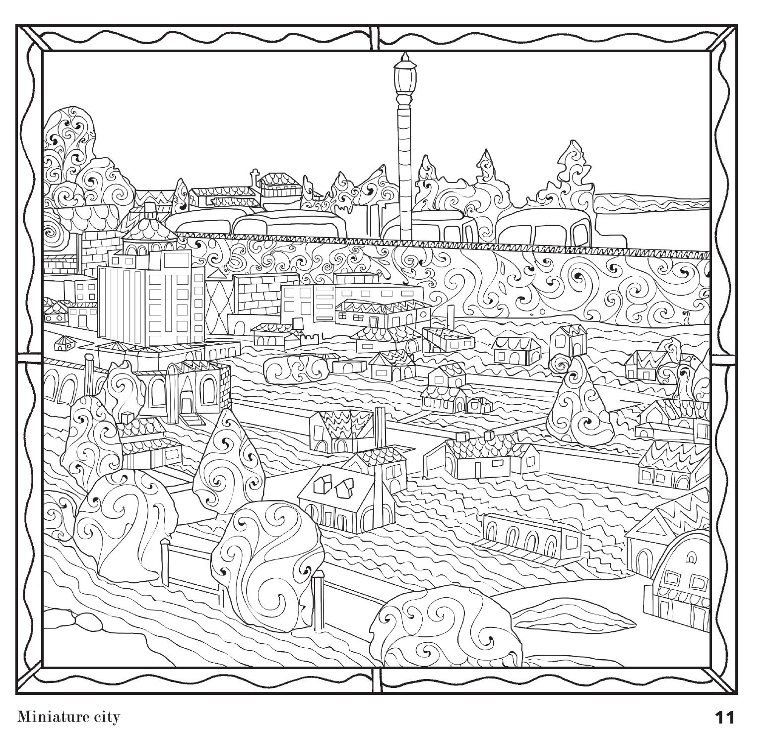 Amazon Etchings The Traverse City Coloring Book For Grown Ups 9780970477828 Kristen M Hains Various Books
