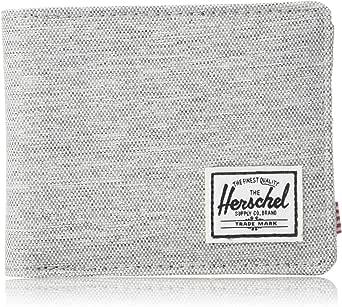 Herschel Roy Unisex Wallet, Light Grey Crosshatch