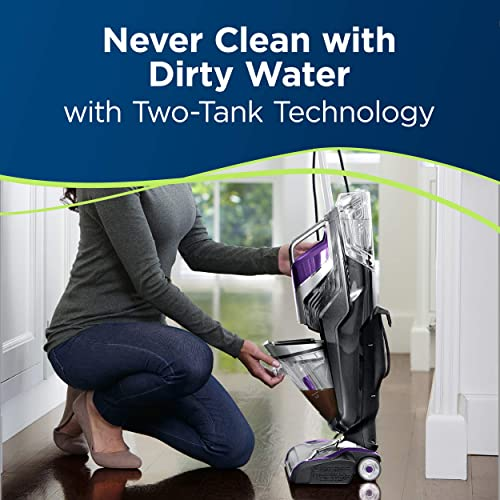 Easily clean up the unit with dual tank technology