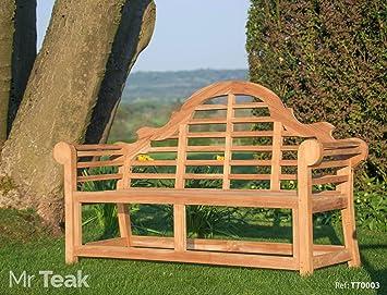 The Sisinghurst Lutyens Teak Garden Bench