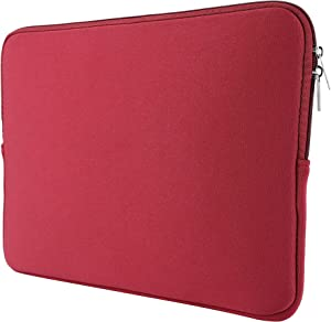 Laptop Sleeve Case, 15.6 Inch Computer Pocket Easy Carrying Bag for Women, Compatible with 15.6