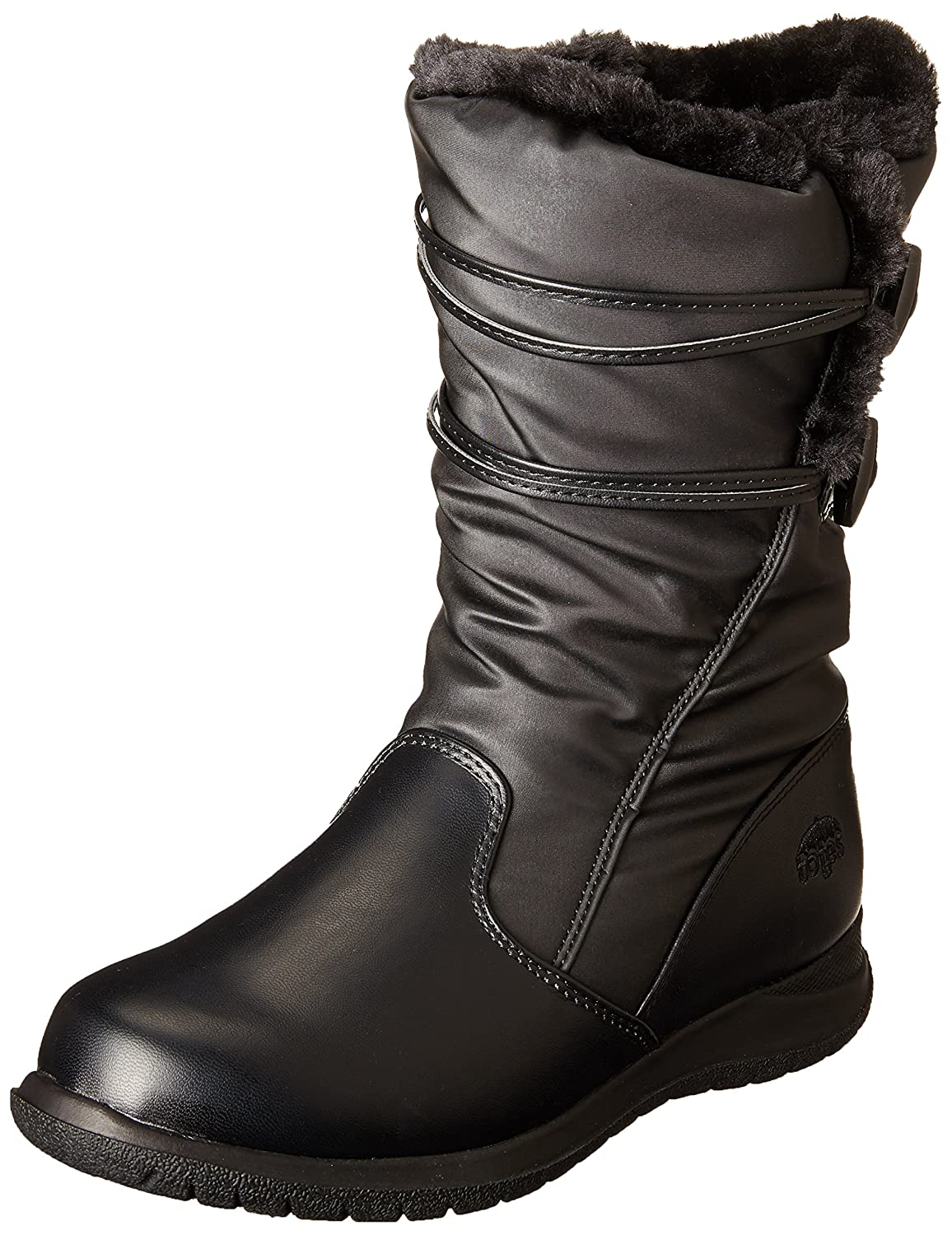 totes Women's Judy with Toggles Snow Boot B00GWZIWDO 7 B(M) US|Black