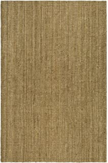 Safavieh Natural Fiber Collection NF447A Hand Woven Natural Jute Area Rug (6u0027  X 9