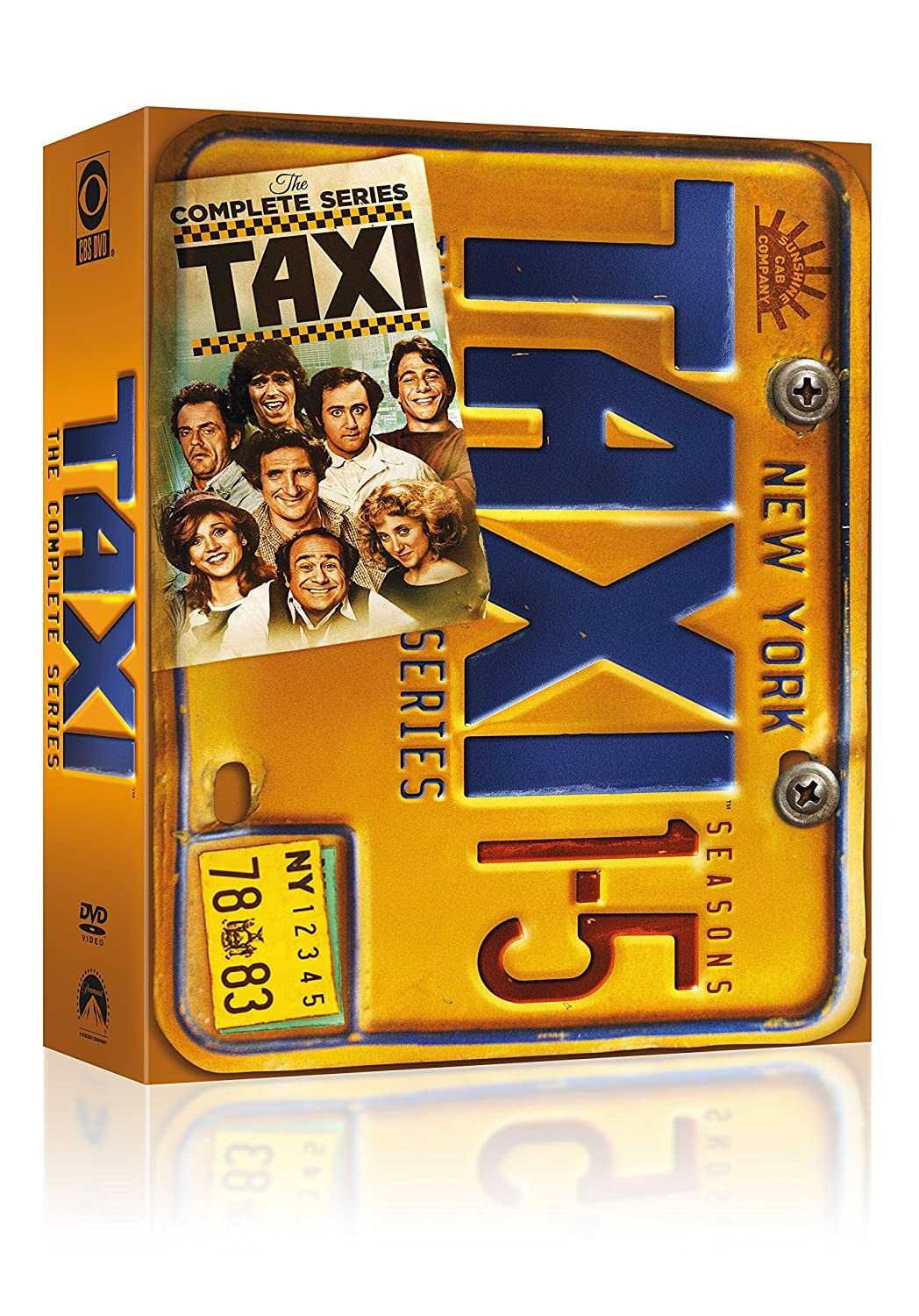taxi complete danny devito tv series seasons 1 2 3 4 5 boxed dvd set new 32429206503 ebay. Black Bedroom Furniture Sets. Home Design Ideas
