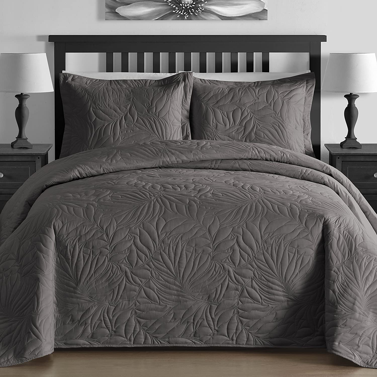 3-piece Bedspread Coverlet Set