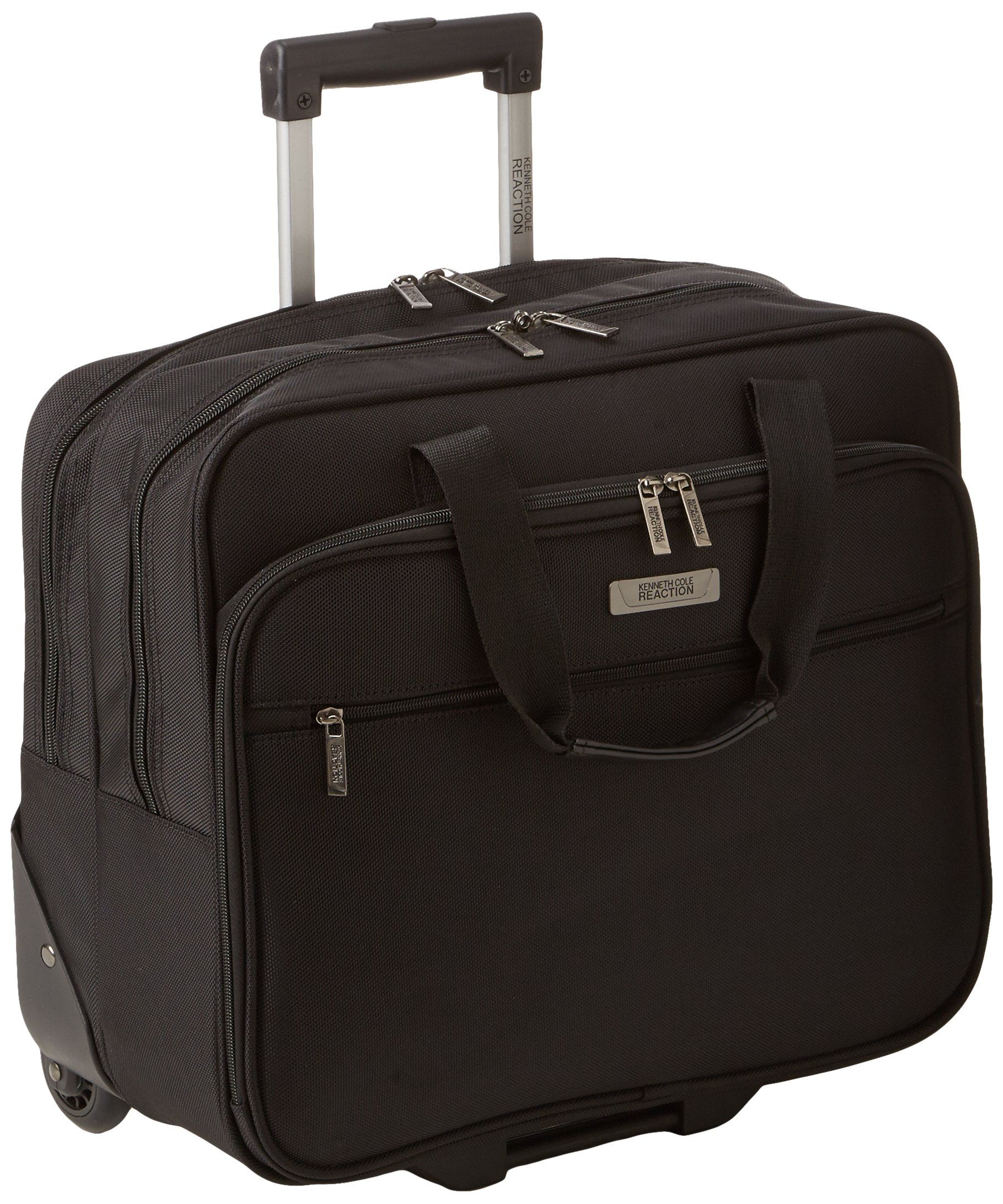 Kenneth Cole Reaction''The Wheel Thing'' Rolling Computer Case, Black