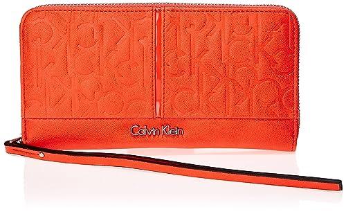 Calvin Klein Jeans MADDIE LARGE ZIP AROUND - Monedero de ...