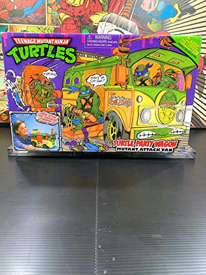 Teenage Mutant Ninja Turtles 25th Anniversary Original Party Van