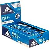 Multipower 53% Protein Bar – 24 x 50 g Eiweißriegel Box – Kokos – Fitnessriegel mit 53 % hochwertigem Protein – 27 g Eiweiß pro Proteinriegel