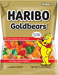 Haribo Gold Bears, 5 Oz