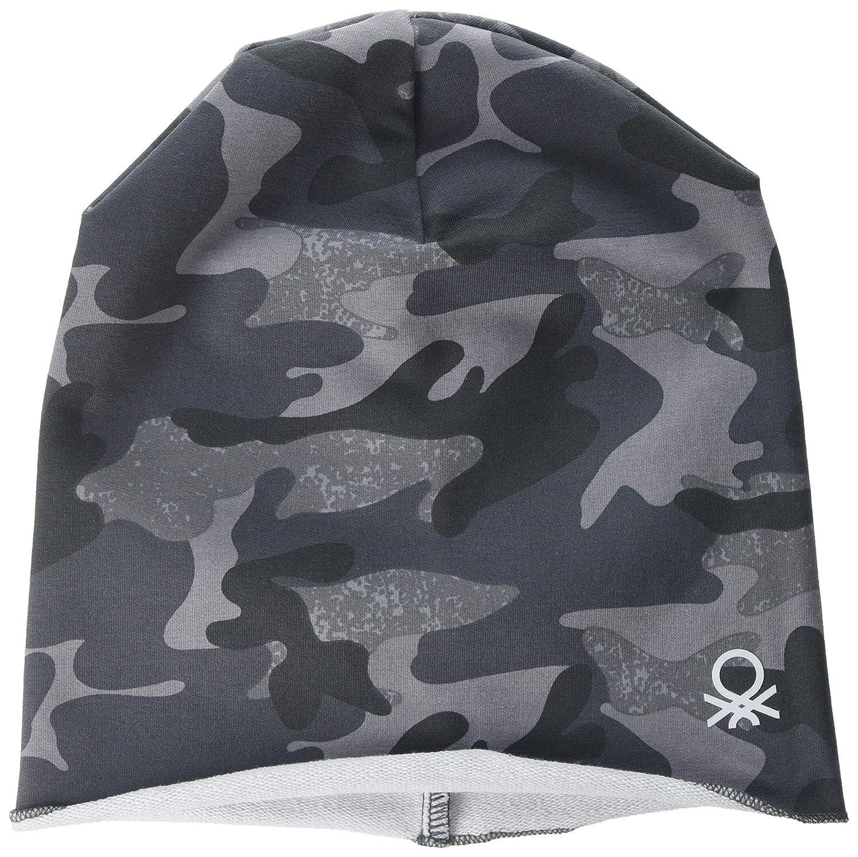 United Colors of Benetton Hat Gorra Bebe, Gris (Grigio/Camuflage ...
