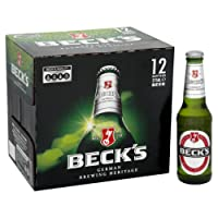 Beck's Lager Beer Bottle, 12 x 275 ml