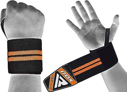 RDX Sangle Musculation N/éopr/ène Gym Poignet Support Paume Entra/înement Fitness Straps Lifting Halt/érophilie